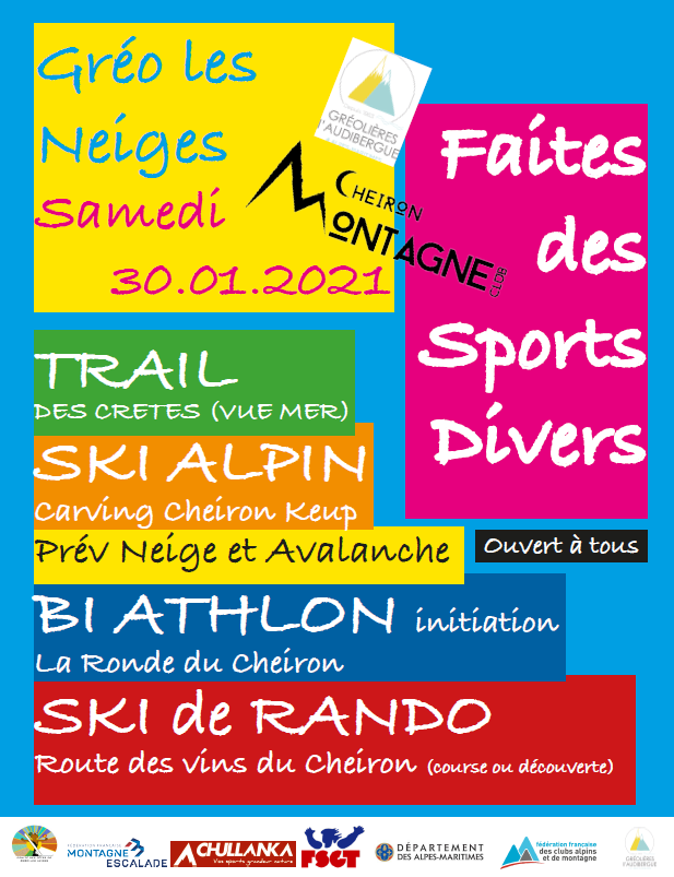 Faire des sports divers